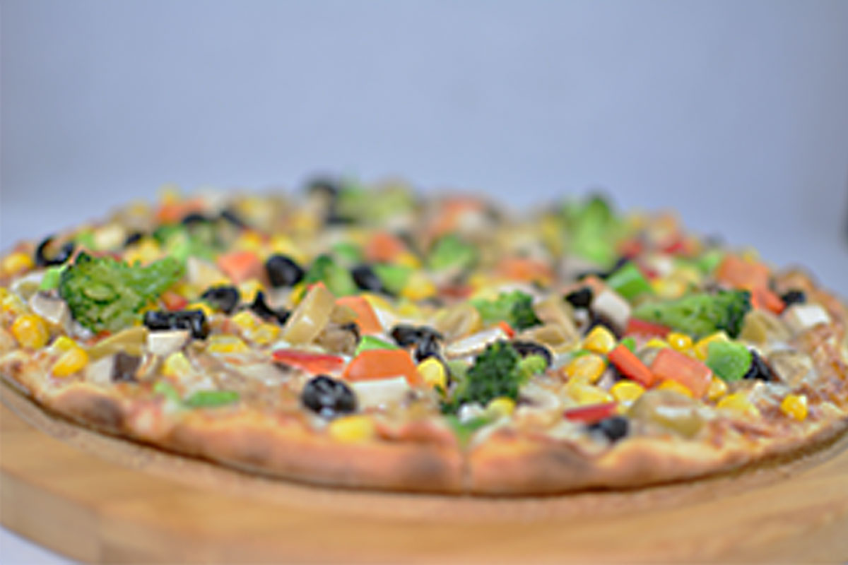VEGETARYAN PİZZA